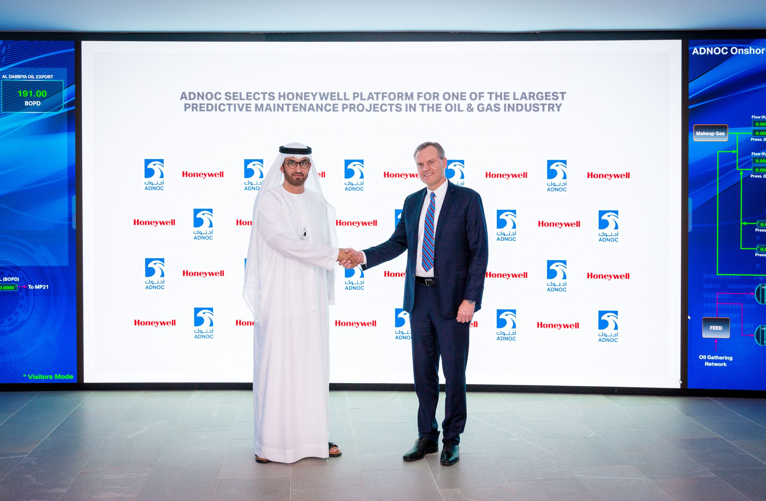 Adnoc selects honeywell platform for one of the largest predictive maintenance projects in the oil and gas industry