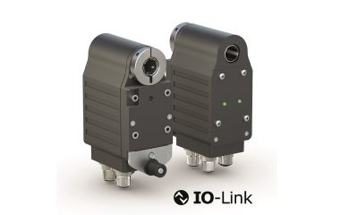 Compact positioning drive with IO-Link