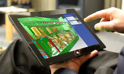 AVEVA E3D Insight in action on a tablet.