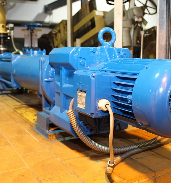 Energy-efficient wastewater treatment Bauer Gear Motor