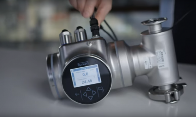 Measuring the Density Factor: How to operate FLOWave Bürkert Fluid Control Systems