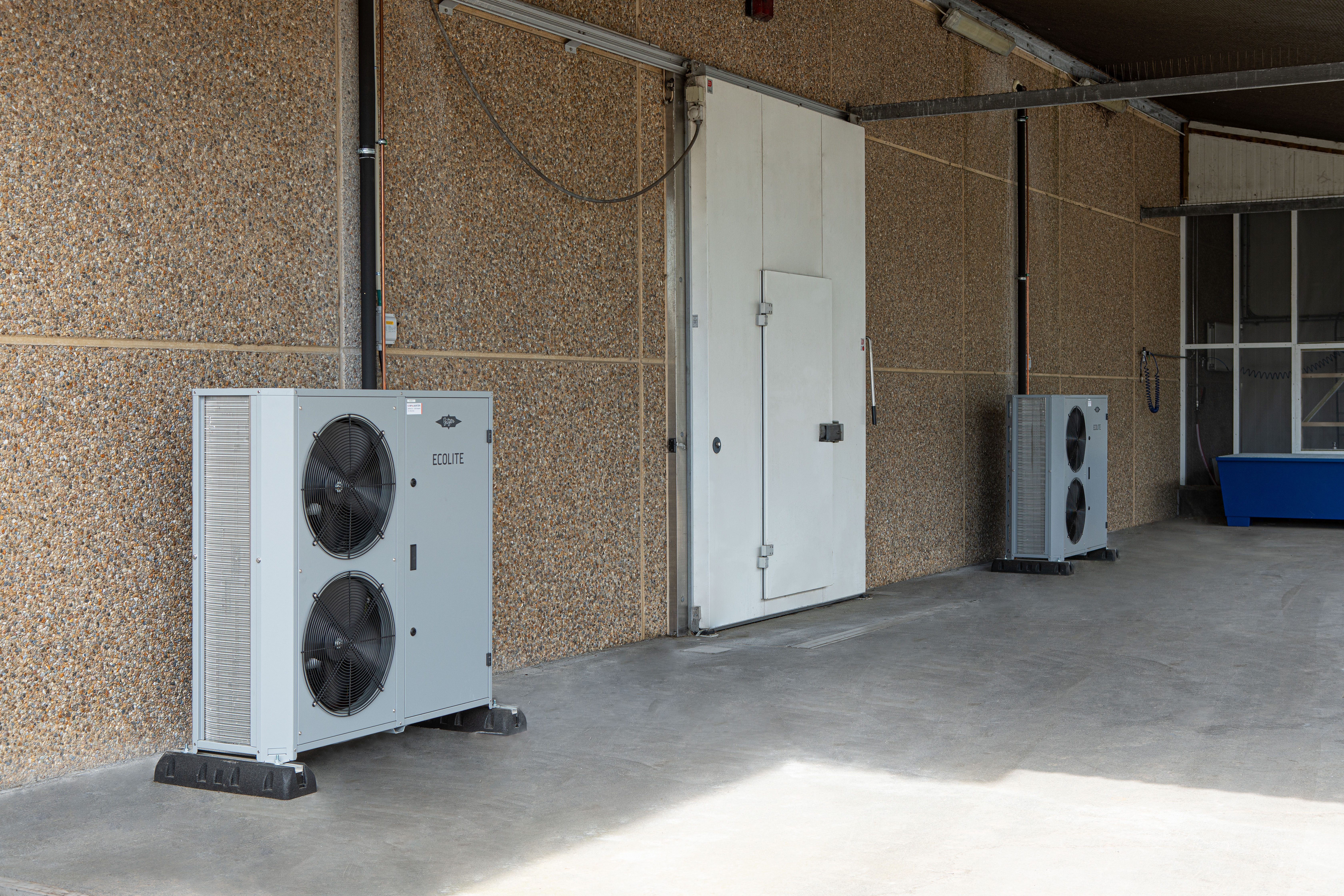 Ecolite condensing units are suitable for a whole host of applications – here, for example, at a Danish brewery. (Picture: Bitzer)