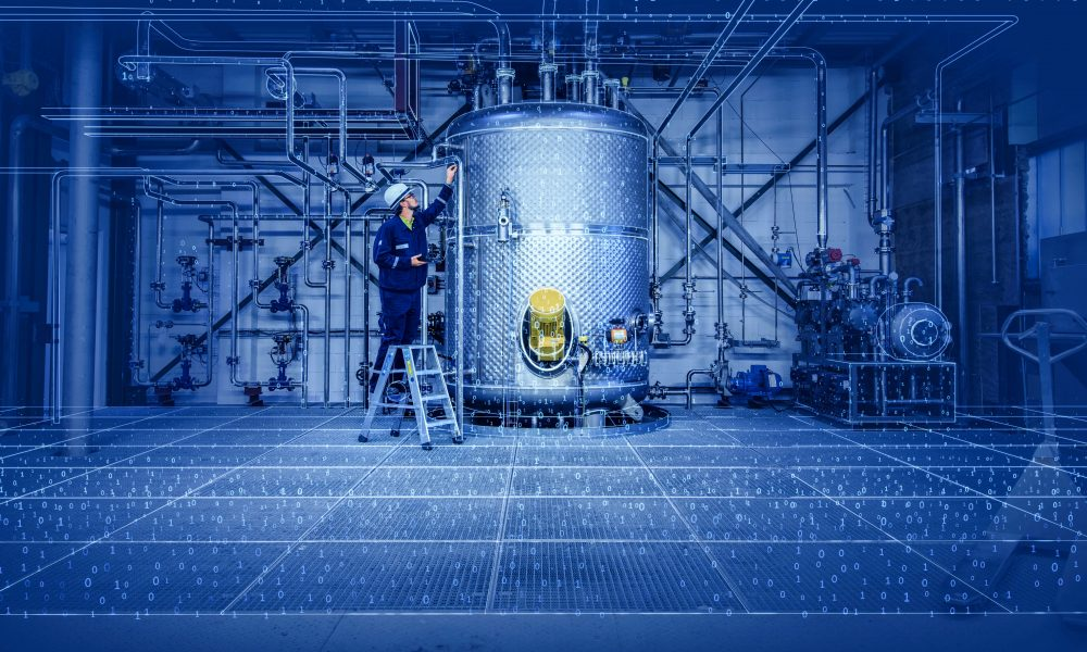 Industrial plants consist of many elements. PIDGraph recognizes these from the plant plans and transfers them to the digital world. (Picture: Bilfinger)