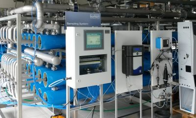 The flexible and scalable membrane integrity test system checks all quality-relevant water data automatically.