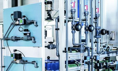 Modular system solution facilitates water blending