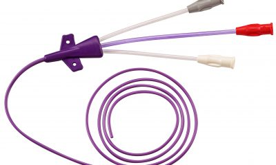 In the U.S., more than 5 million central venous catheters (CVCs) are inserted every year, which corresponds to 15 million days of treatment with CVCs. In Germany, this figure is 4.8 million in intensive care units alone. (Picture: Flexan)