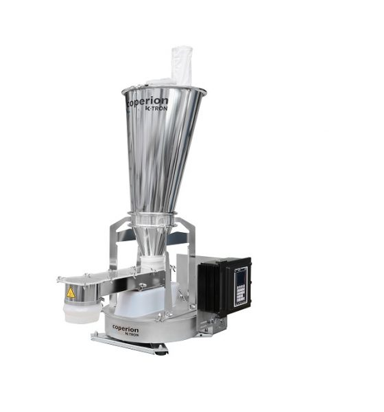 Coperion K-Tron's new line of K3 vibratory feeders features a unique, patent-pending drive system combined with an advanced control package, resulting in gentler product handling, higher accuracy and quicker product changeover. (Picture: Coperion K-Tron)