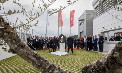 Dedication of Endress+Hauser's new building in Portugal.