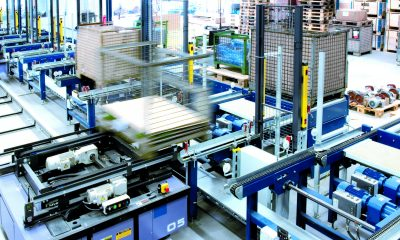 Supplies economical drive solutions with a high overload capacity for the special requirements of pallet conveyor technology. Nord Drivesystems