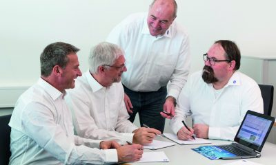 CAG members from R. Stahl (left to right) Falk Thürmer, Manfred Kaiser, Otto Walch and Brad Zimmermann. They will document and draft proposals, regarding standards, which will then be approved via a majority at the IEC TC 31's plenary session.
