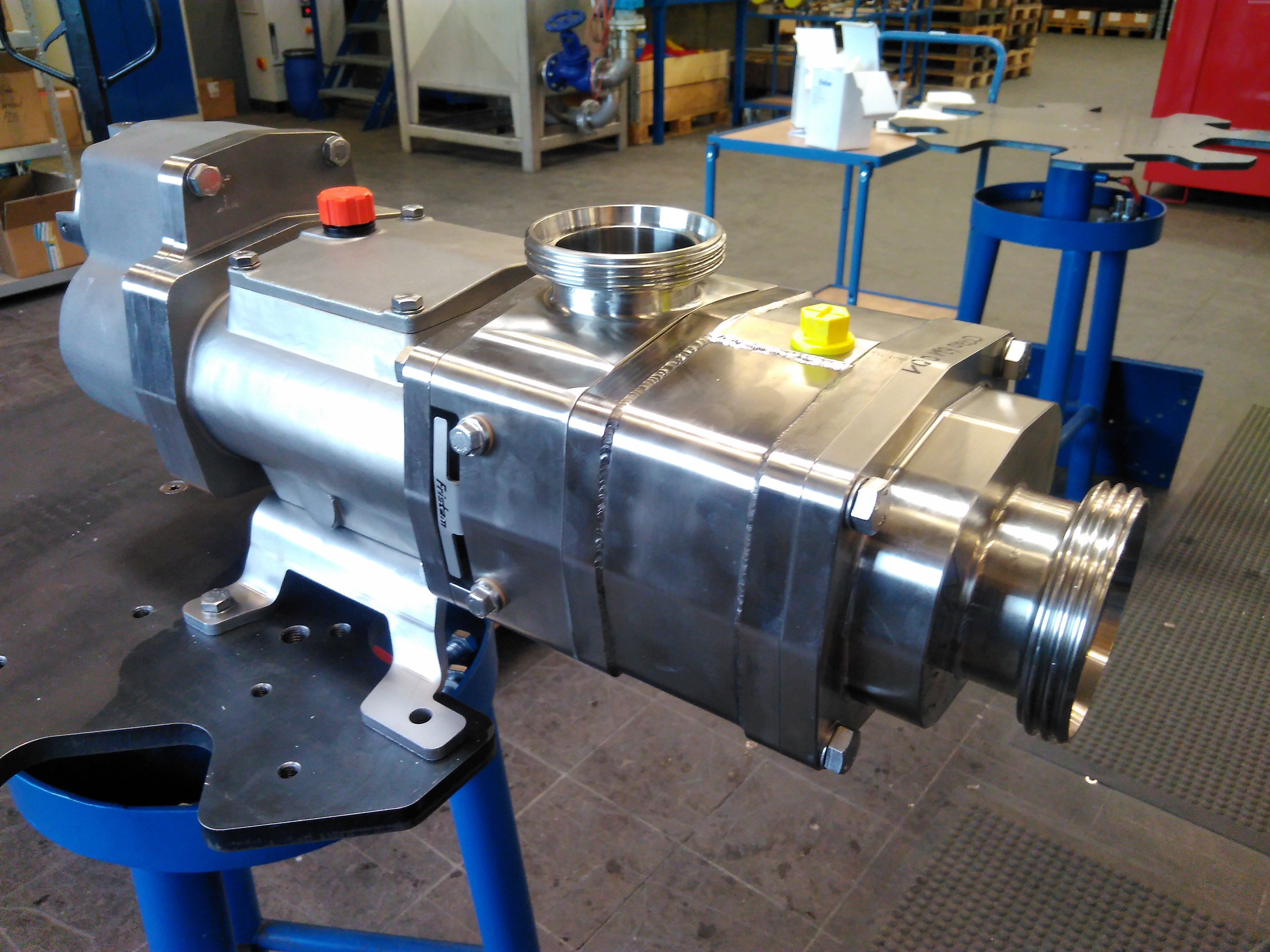 FRISTAM FDS TSG - efficient mechanical drive solution