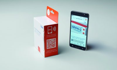 Interactive packaging solutions: it is easy to refer to further information via QR codes, NFC chips or Augmented Reality - for example to the correct way to use the medication. Picture: August Faller