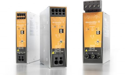 Weidmüller PRO RM redundancy modules for decoupling the outputs of parallel switched-mode power supplies: redundant power supply for the highest equipment availability.
