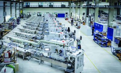 The MCC wrapping machine's modular design enables a quick change of the product dimension and folding type. Picture: Theegarten-Pactec