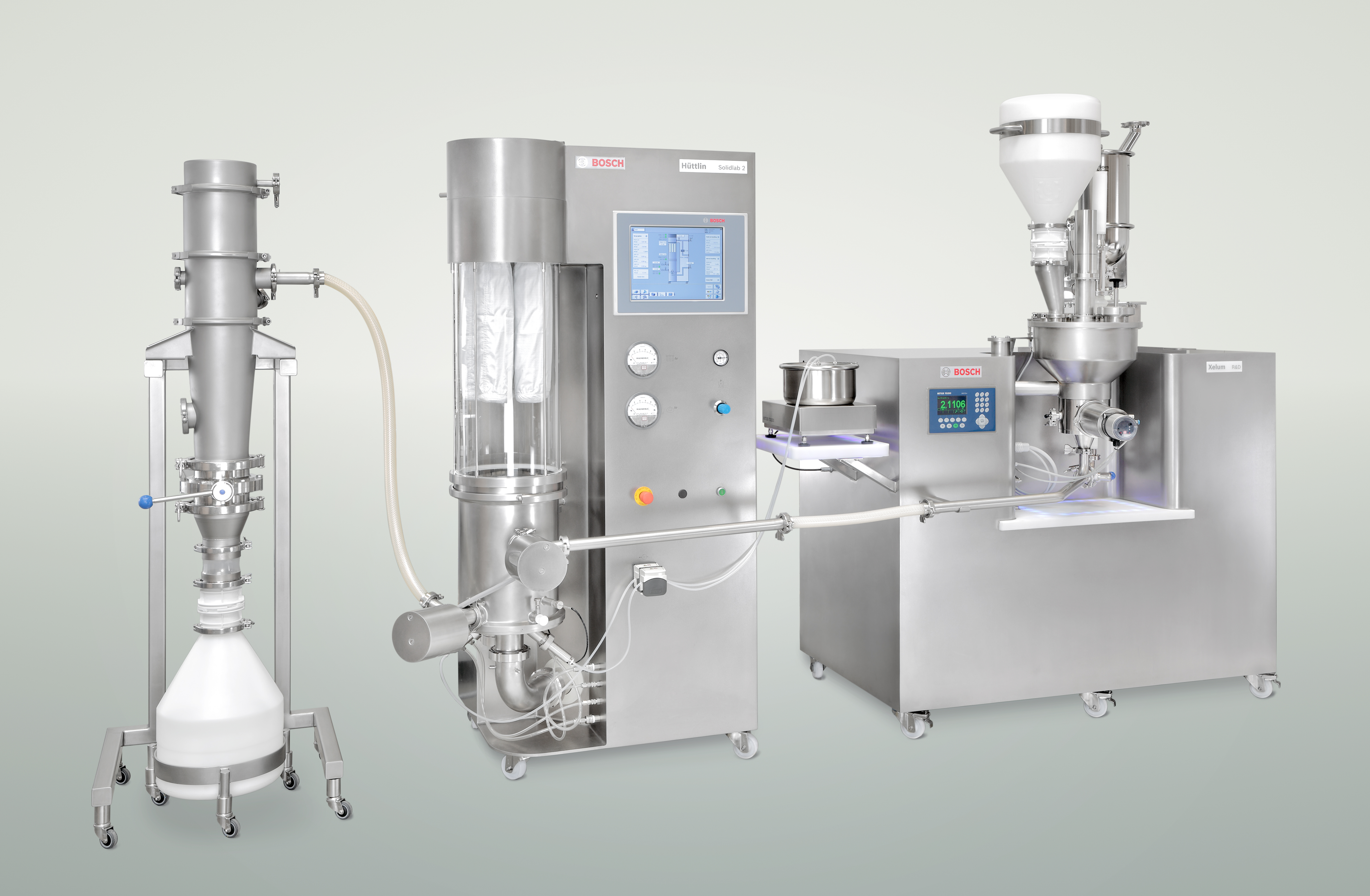 The new R&D device for the continuous production of oral solid dosage (OSD) forms ensures short time to market and an optimum dosing of smallest amounts of API.