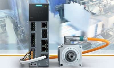 Siemens extends the Sinamics S210 servodrive system to include the Extended Safety Integrated functions. The existing basic functions such as Safe Torque Off (STO), Safe Stop 1 (SS1) and Safe Brake Control (SBC) are now complemented by extended functions provided by the new firmware versions V5.1 SP1: Safe Stop 2 (SS2), Safe Operating Stop (SOS), Safely-Limited Speed (SLS), Safe Speed Monitor (SSM), Safe Direction (SDI), and Safe Brake Test (SBT).