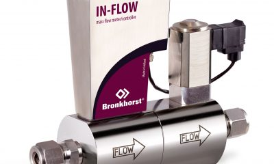 Mass Flow Controller for gases with Profinet Interface. Picture: Bronkhorst