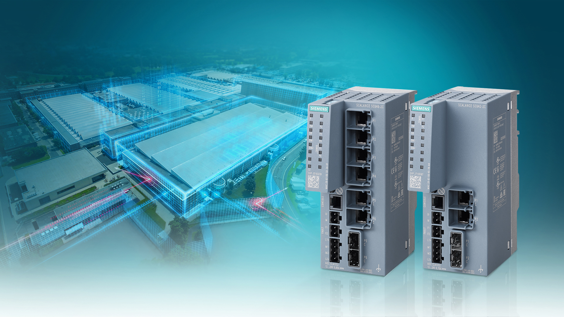 Siemens has extended the Scalance SC-600 Industrial Security Appliances to include more functionality for even better and simpler protection of production networks.