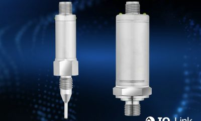 The dTrans T1000 temperature sensor (left) and the dTans p35 pressure sensor (right) are the first Jumo products to have an IO link interface.