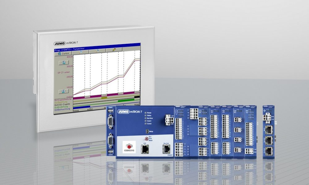 In system version 05 the Jumo mTron T automation system offers numerous user-friendly improvements.
