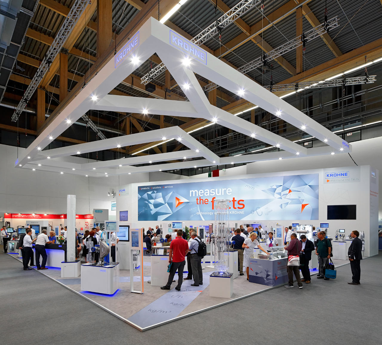 At Achema 2018, Krohne will be presenting innovations for the process industries.