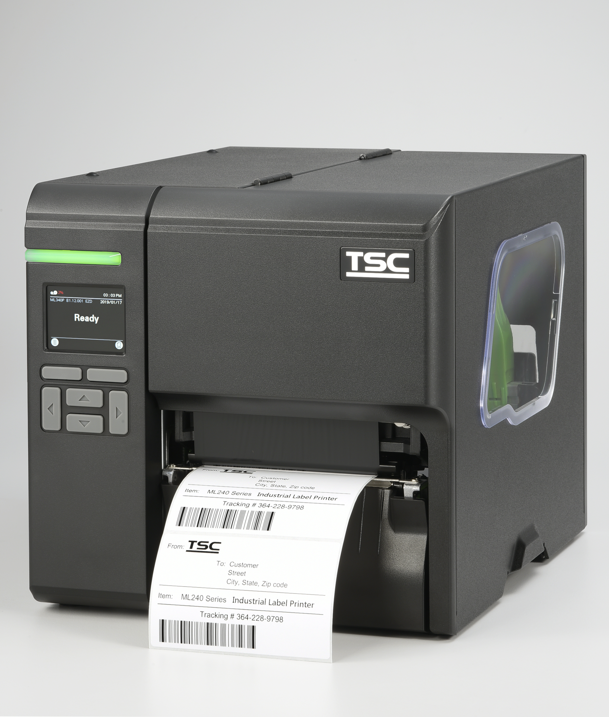 TSC Auto ID Technology EMEA Top drawer label printers