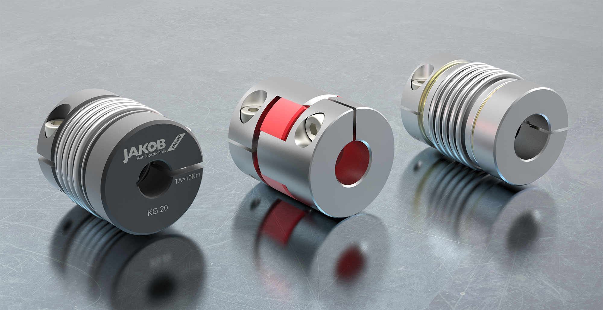 Jakob miniature couplings create precision