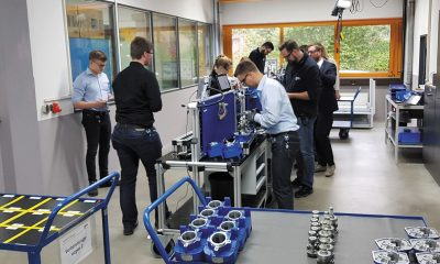 At the Bargteheide site various modular courses with a heavily practical emphasis are held in the NordPro Lab. Picture: Nord