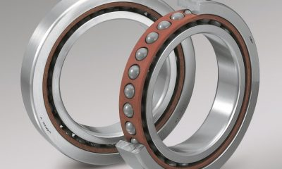 NSK's ACBB – Robust series of ultra-high speed Angular Contact Ball Bearings.