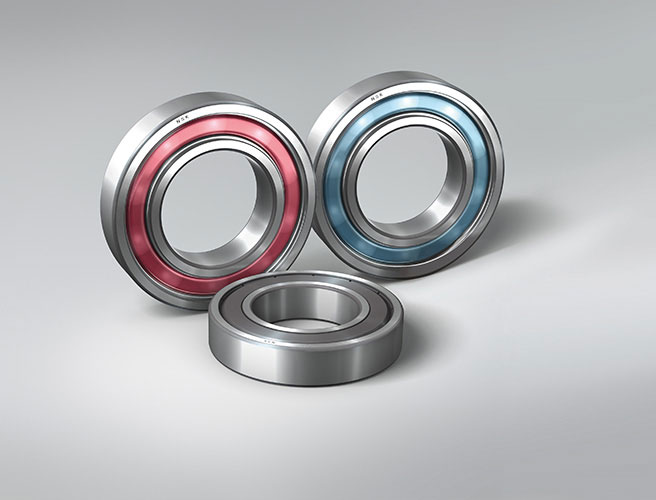 NSK Molded-Oil rolling bearings are used widely in food and beverage plants. Picture: NSK