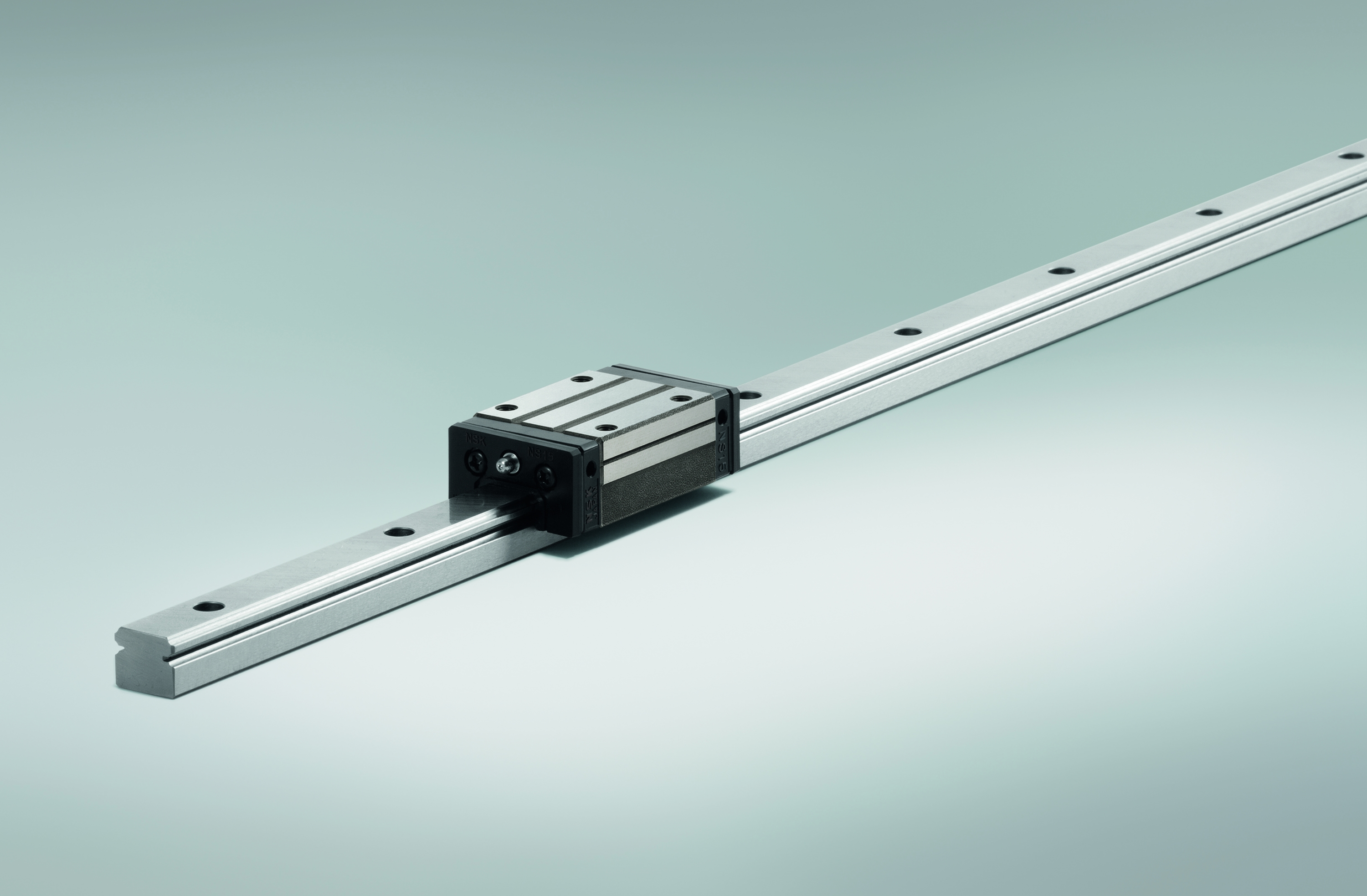 Switching to NSK boosts linear guide life by a factor of nine