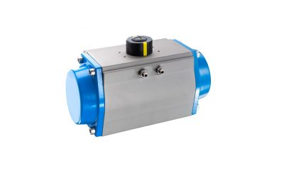 bar pneumatische Steuerungssysteme New, versatile and sophisticated – pneumatic swivel actuator for automating valves