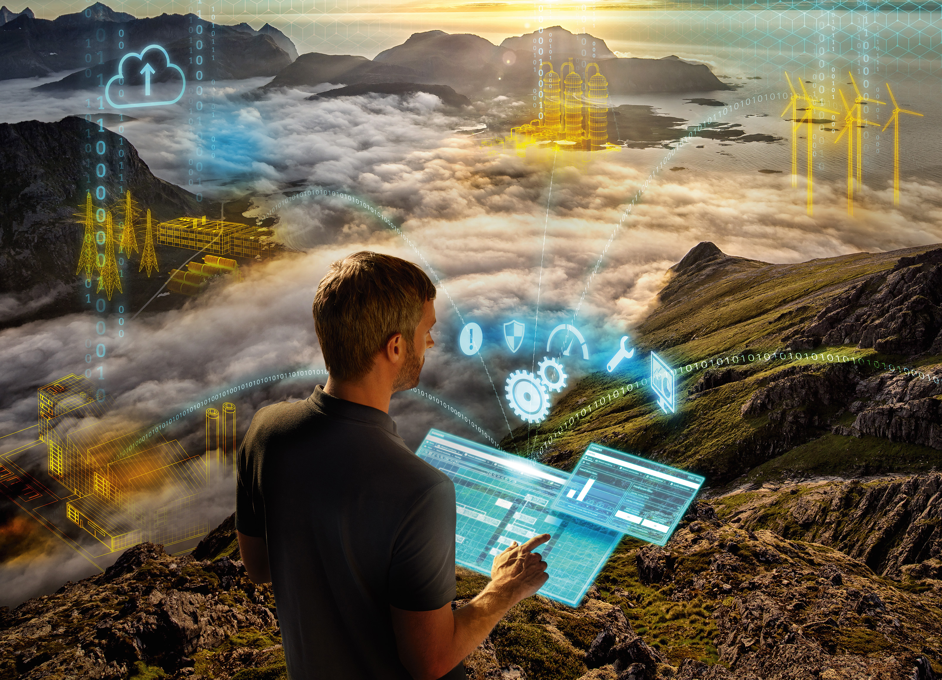 Siemens is launching Sinec NMS, a powerful, future-proof network management system (NMS).
