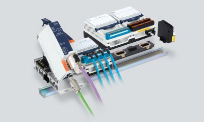 The new Zone 2 CPU and power modules for the Remote IS1+ I/O system support Profibus DP and Profinet, EtherNet/IP and Modbus TCP. Picture: R. Stahl