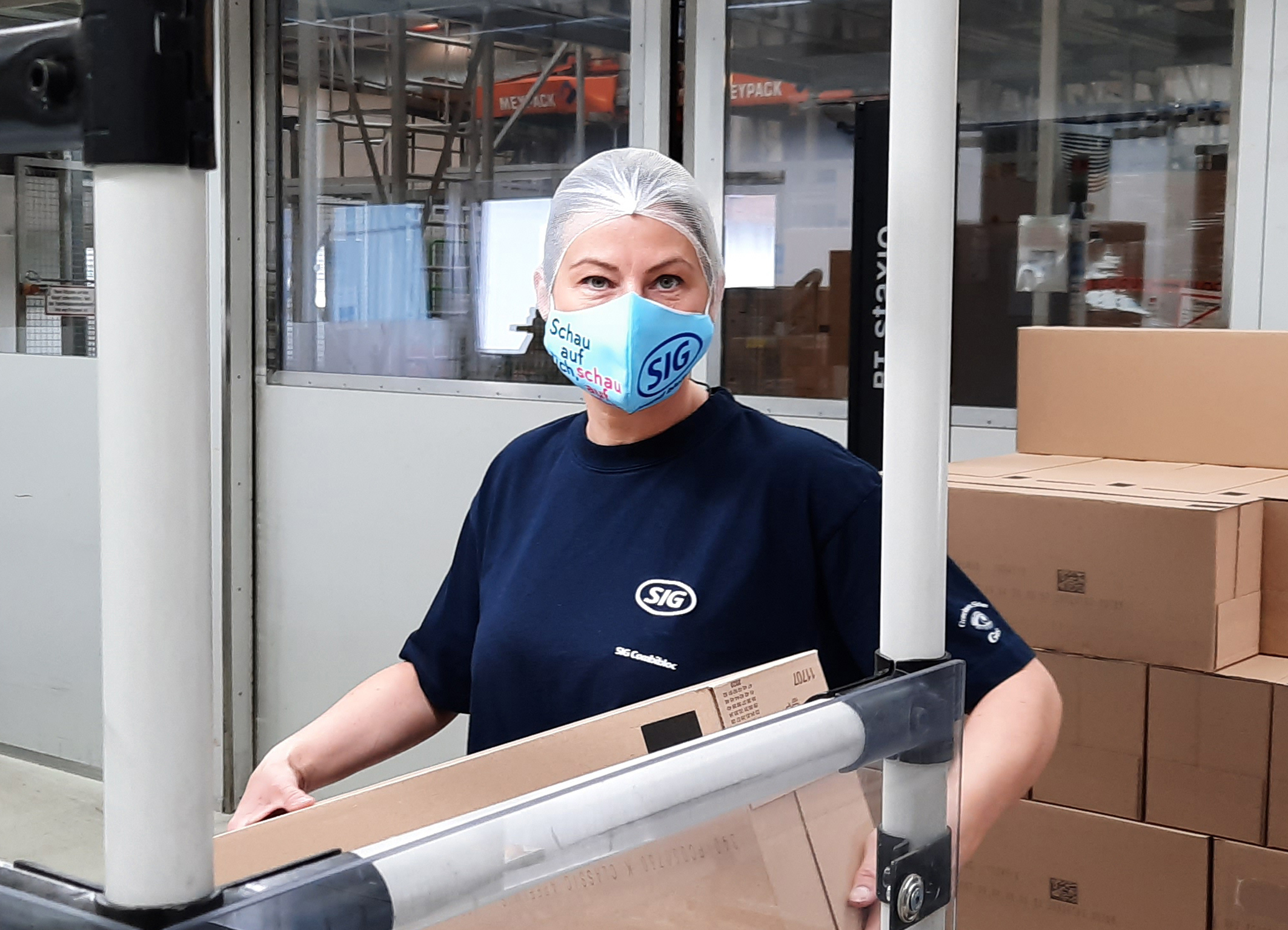 SIG has launched a new online story hub, featuring the latest activities and actions the company is taking as part of a global response to the ongoing Covid-19 pandemic. (Picture: SIG)