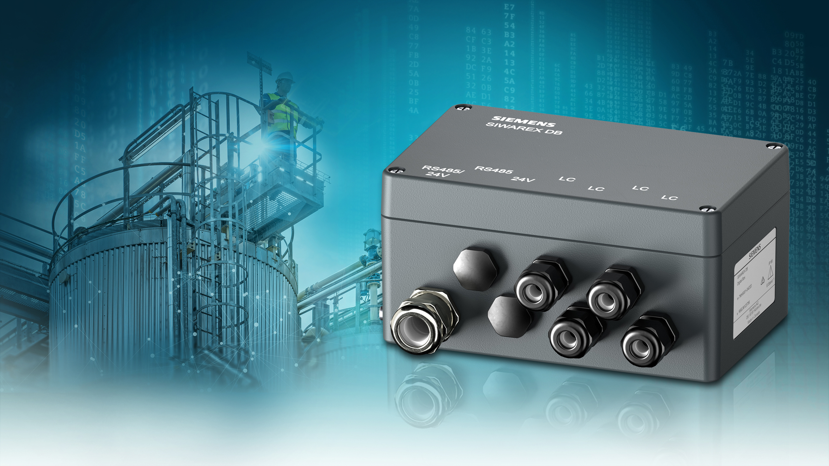 Digital junction box - increased transparency in monitoring and diagnostics Siemens