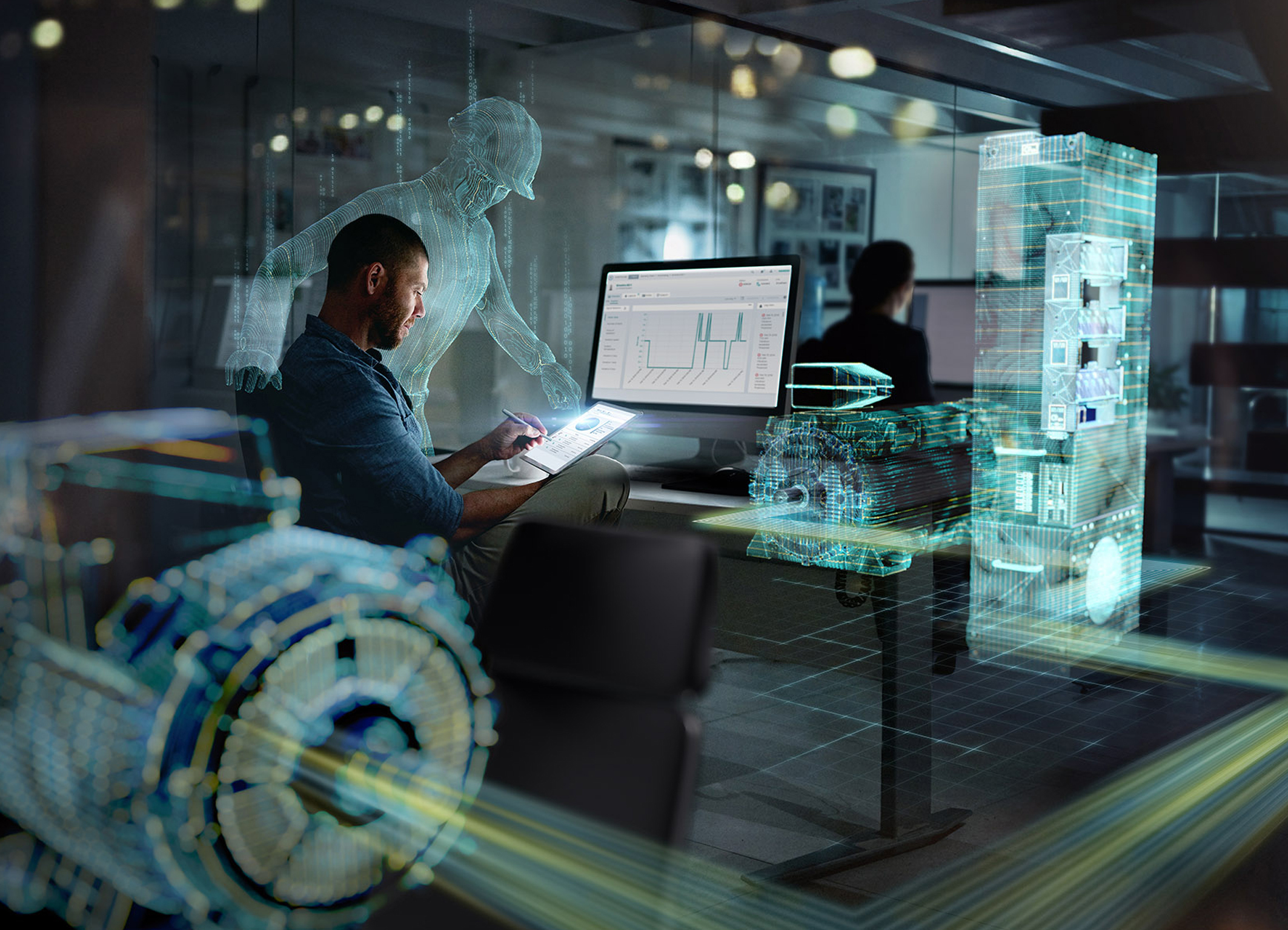 Sidrive IQ from Siemens provides a digital platform enabling the evaluation and utilization of data gathered from drive systems. Picture: Siemens
