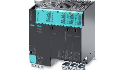Siemens offers new features in the firmware and hardware for the Sinamics S120 drive system.