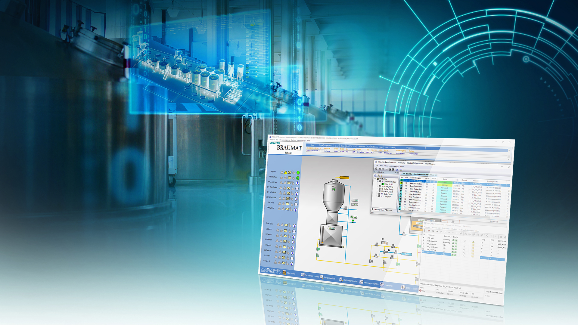 Siemens presents new version of Braumat process control system