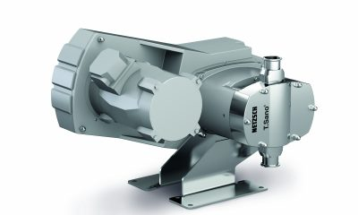 The new design of the Tornado rotary lobe pump T.Sano has a completely smooth housing which attracts barely any dirt and dust.