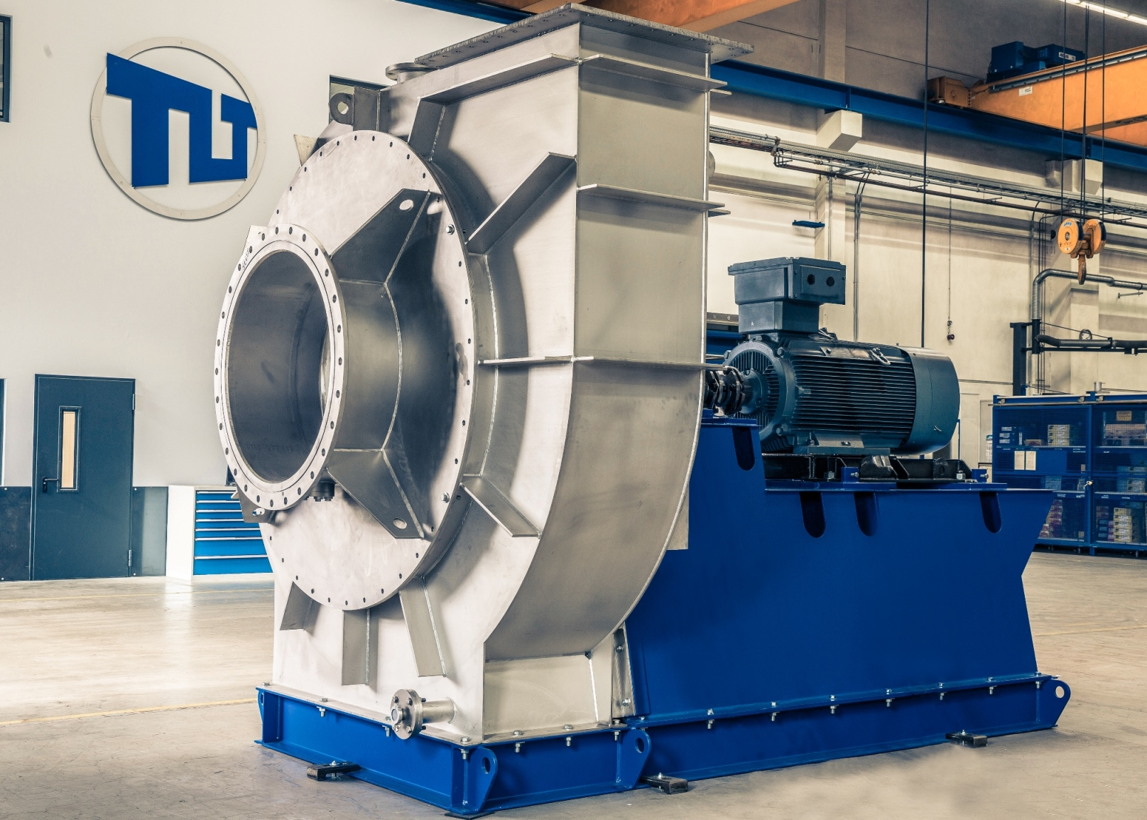 The new TLT-Turbo fan for Mechanical Vapor Recompression. (Picture: TLT-Turbo)
