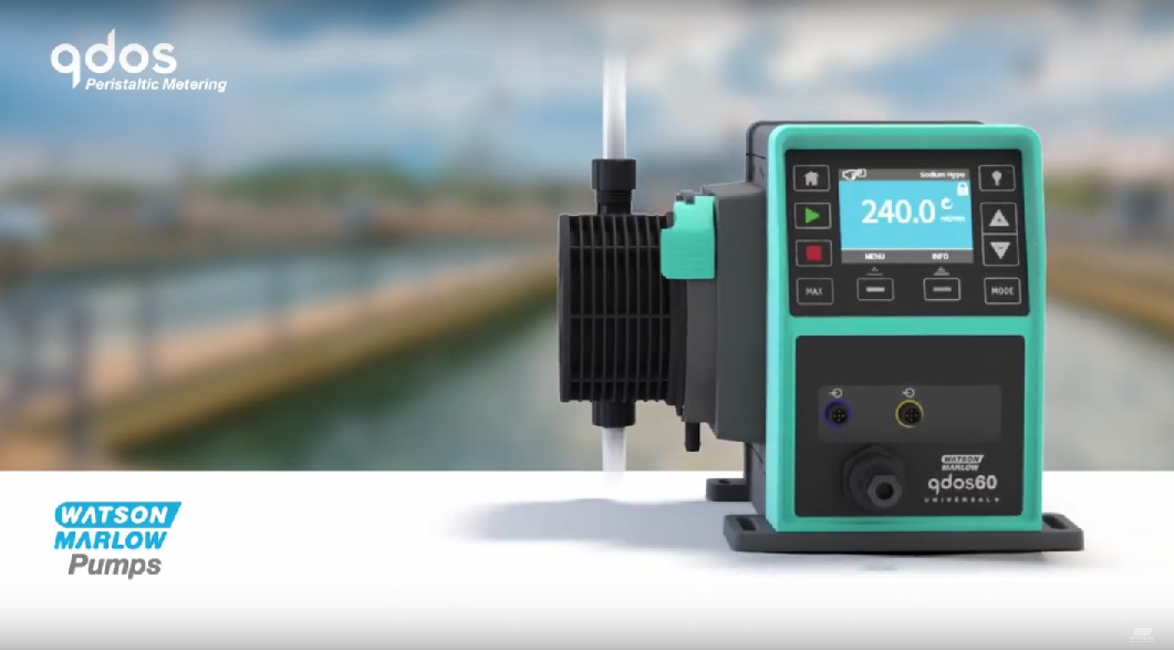 Watson-Marlow Qdos - accurate, versatile chemical metering pumps