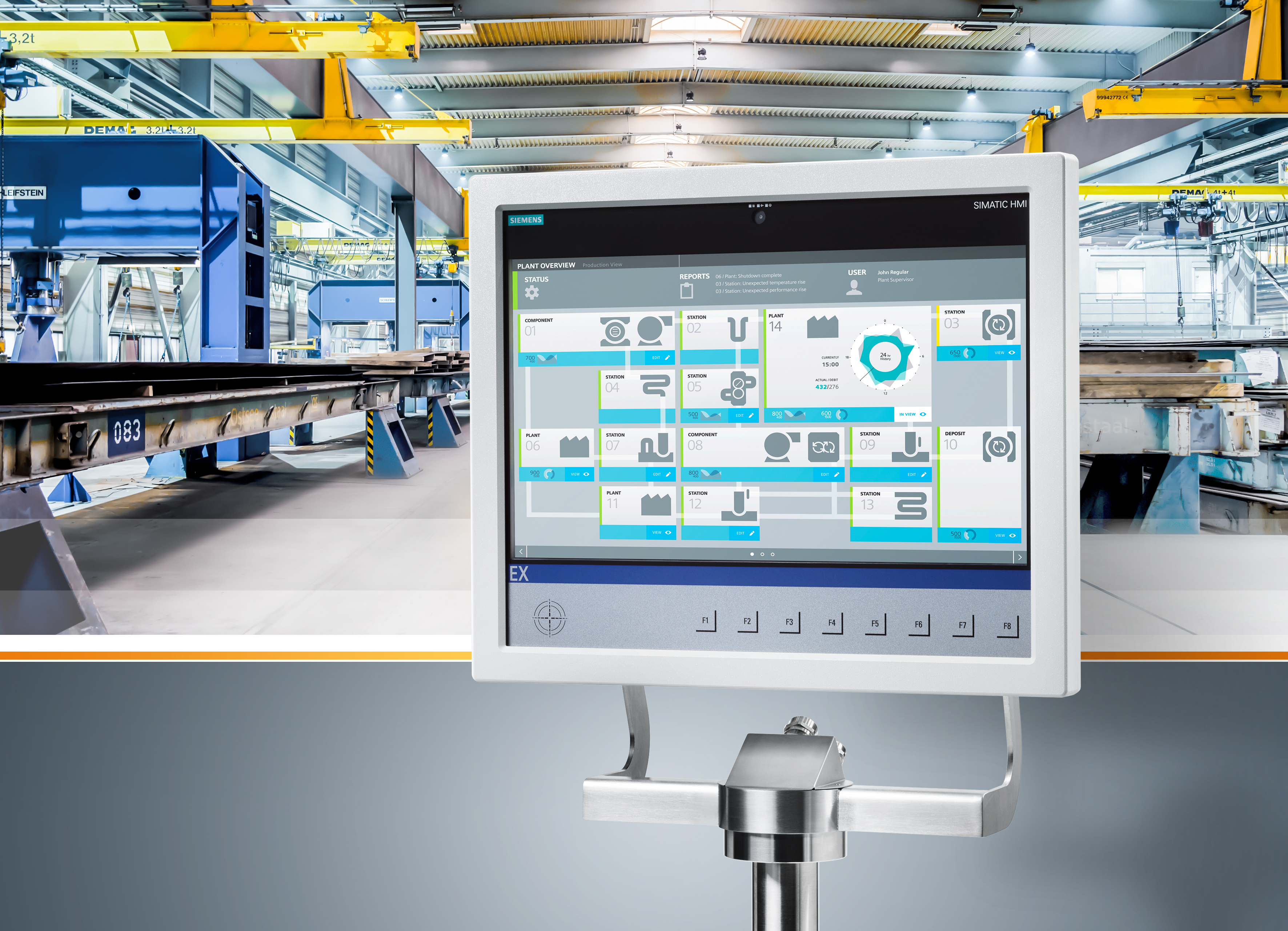 Devices for operator control and monitoring • INDUSTRY24h